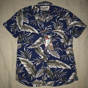 015cff1c MBX Original Denim Wear Hawaiian Shirt